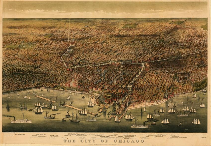 Chicago durante el siglo XIX