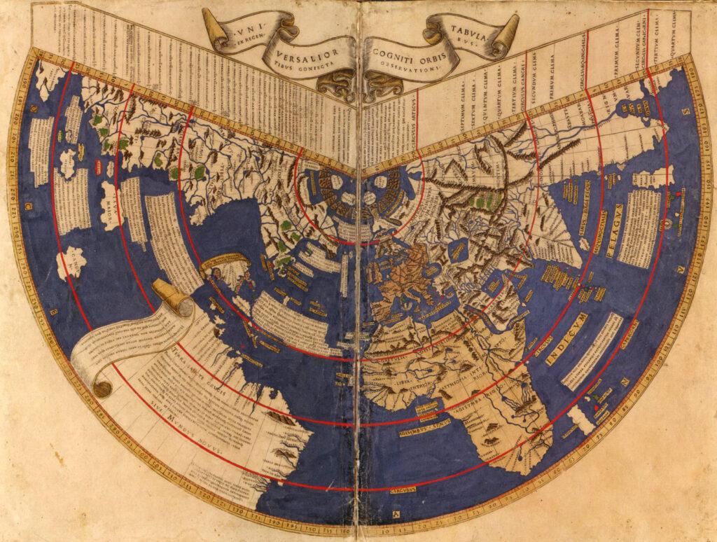 Mapa de Hiperbórea.